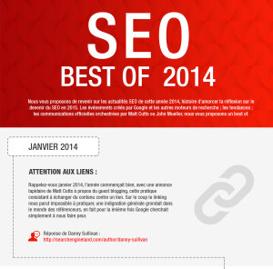 Infographie best of seo 2014