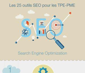 Infographie référencement naturel 25 outils pour les PME 2014